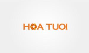 Thiet ke logo Hoa Tuoi
