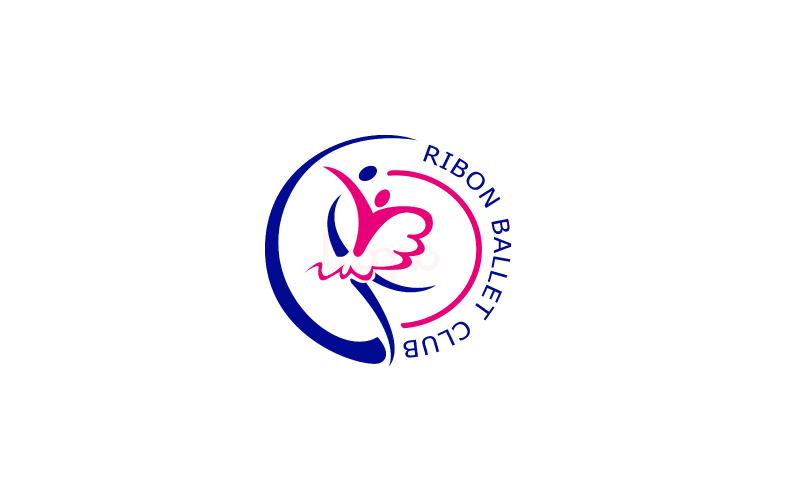 Thiet-ke-logo-Ribon-Ballet-Club