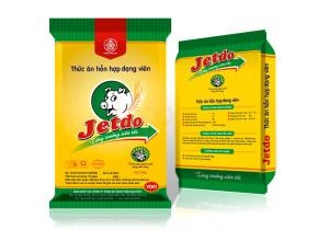 Thiết kế bao bì thức ăn hôn hợp Jetdo