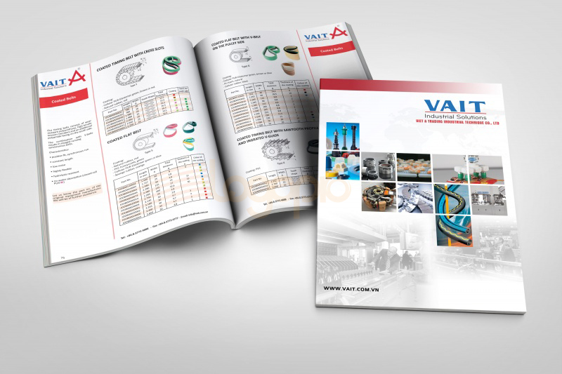 Thiet ke catalogue VAIT