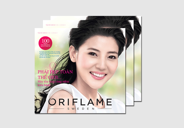 Catalogue my pham Oriflame 3-2014
